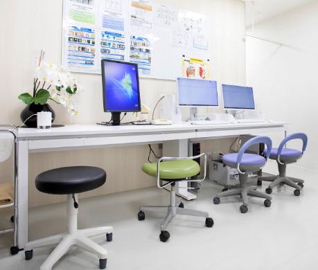 外来診察室・処置室エリア
